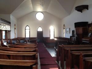 Inside Bekevar Church
