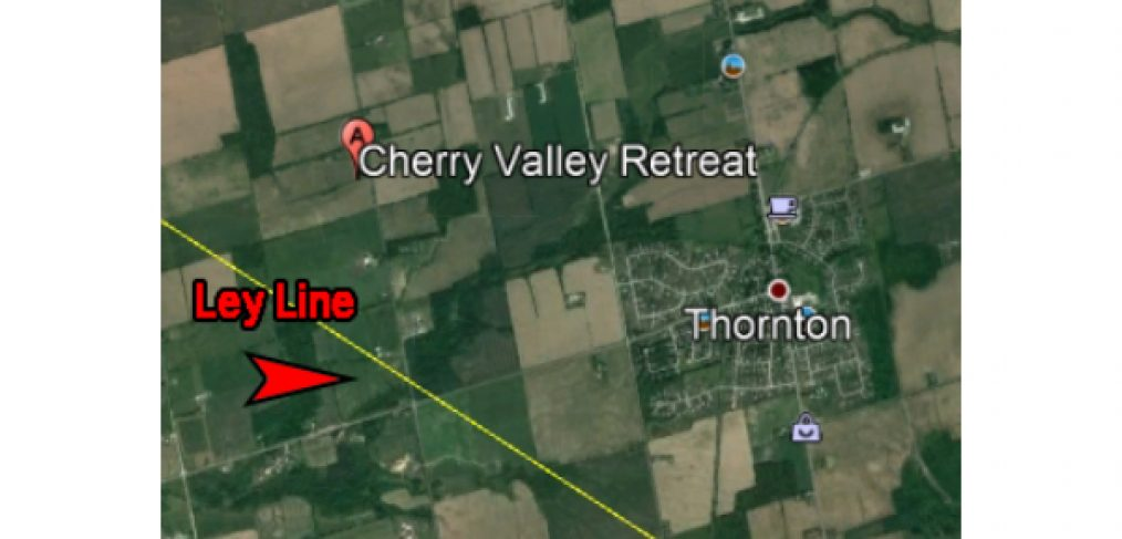 407 blog - google map - cherry valley retreat - the other side tv