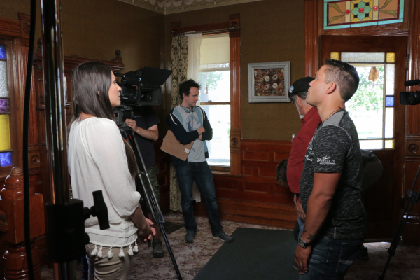 Behind to Scenes Pictures from The Other Side Ghost Hunting TV Show