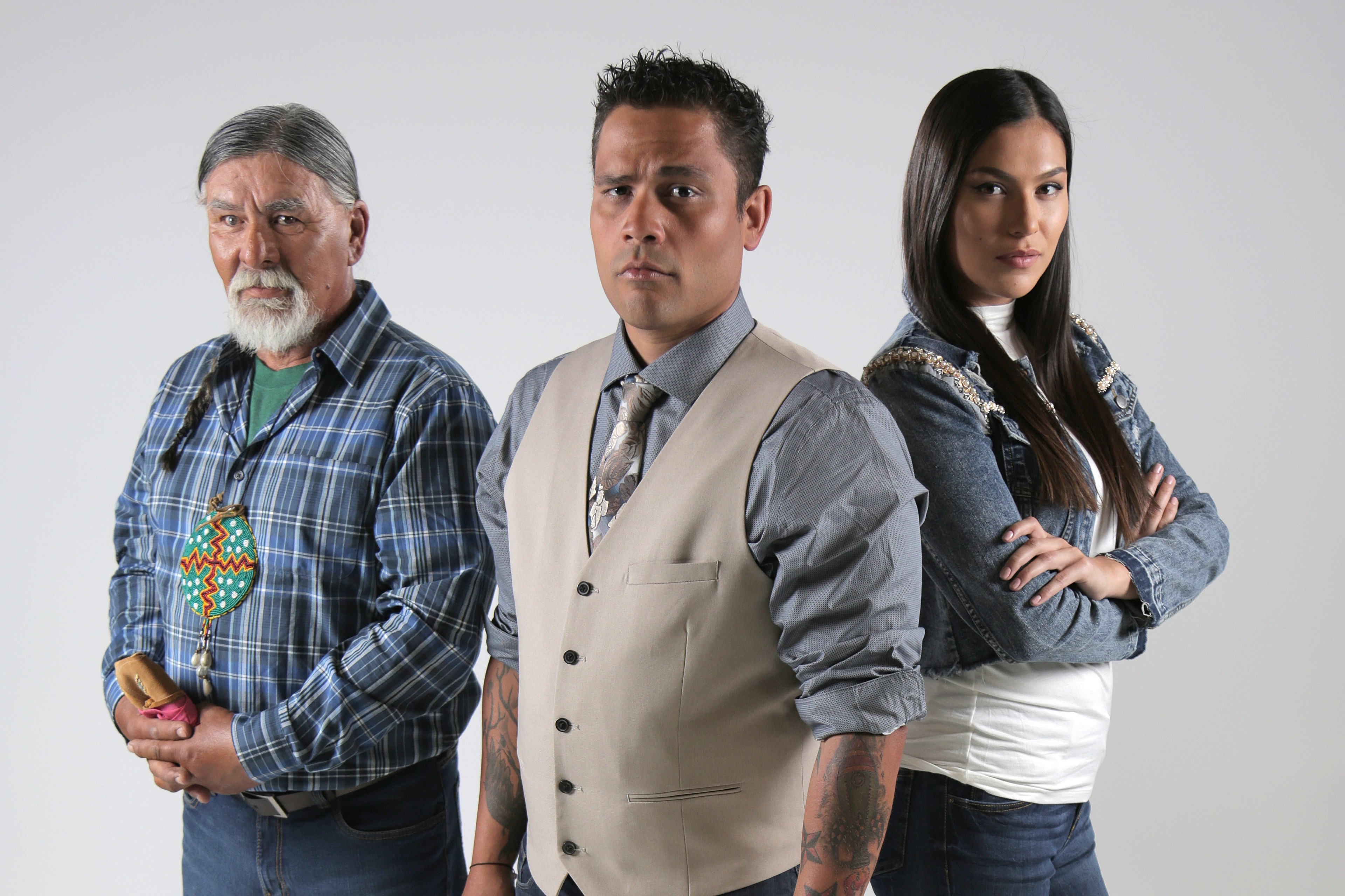 The Other Side Season 5 ghost hunting team - Jeff Richards, Michaella Shannon, Tom Charles