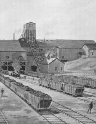 503 - Cape Breton Mine at the Beginning of the 20th Century