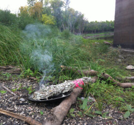 Smudging with sage - The Other Side TV