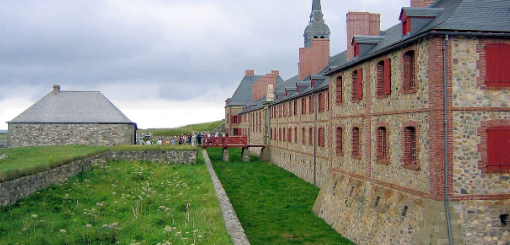 502 - Fortress of Louisbourg, Cape Breton Island, Nova Scotia